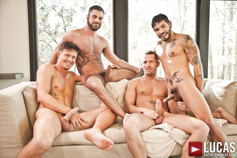 Jed's Birthday Party Retreat Turns into a Wild Sex Party