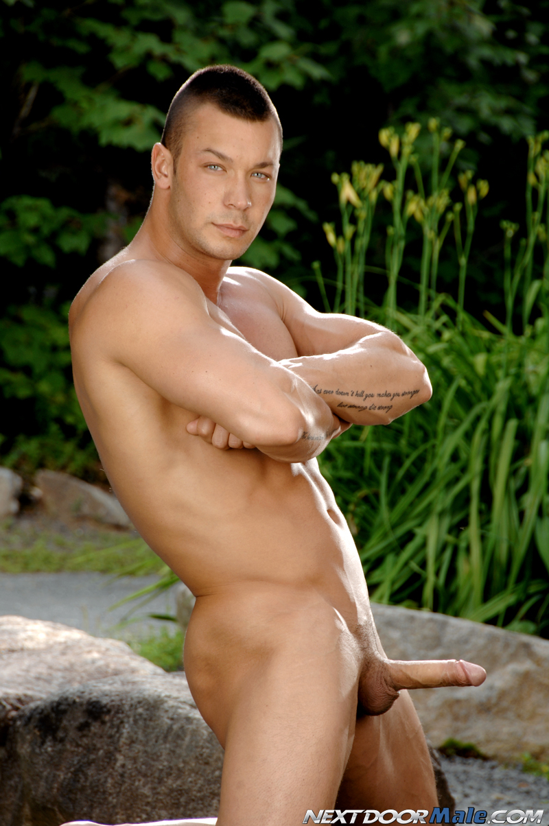 naked twink by the pool porn