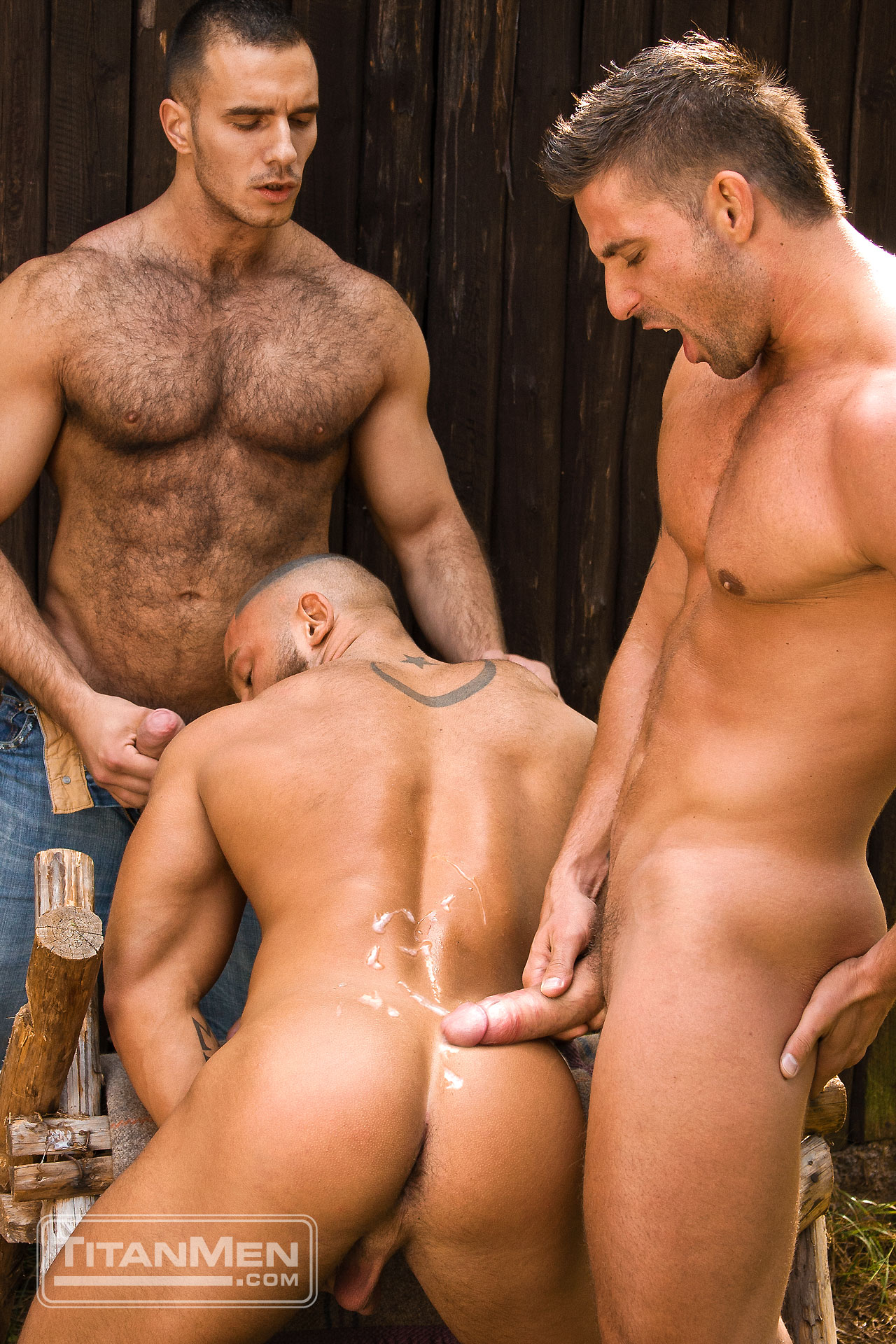 from Marley black naked men cuming