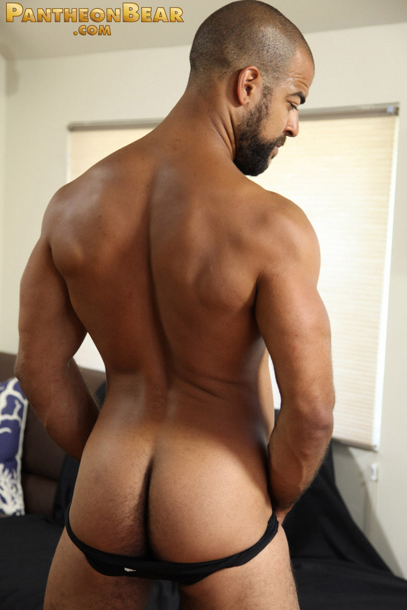 from Otto nude black man in a thong