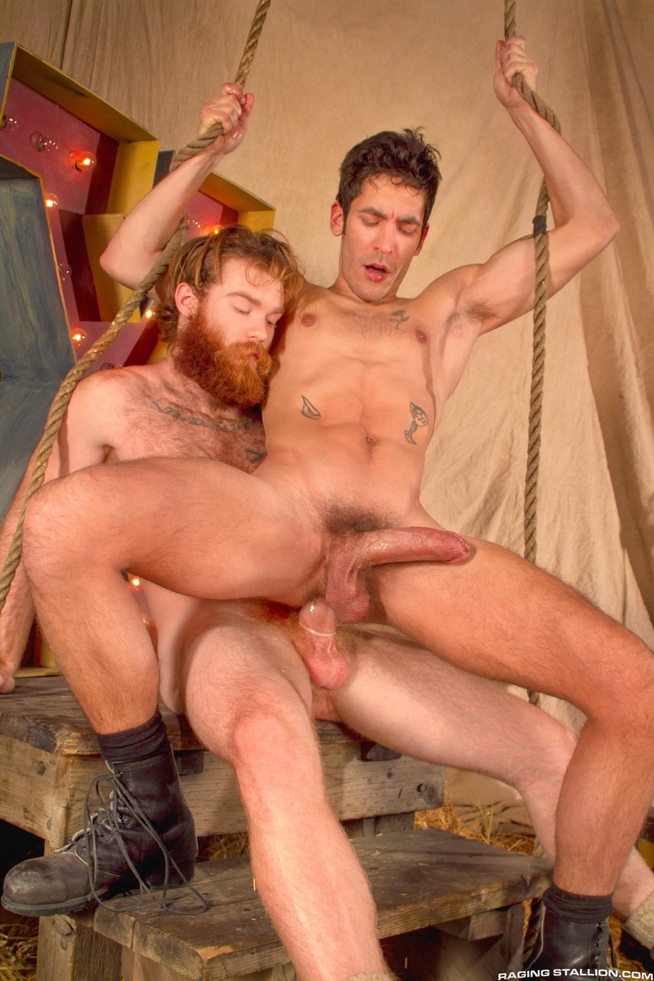 Порно бородатые