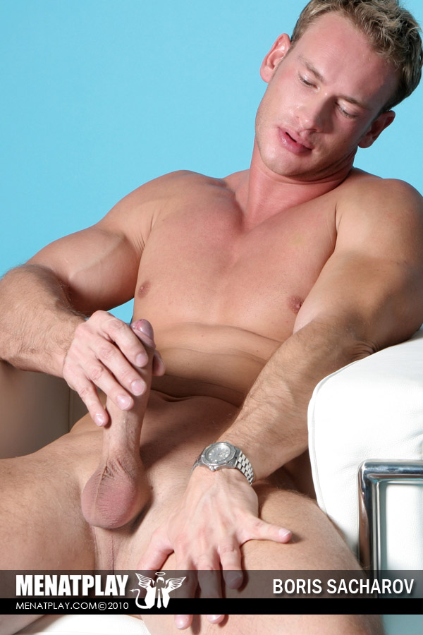 Muscle Guy Solo Teasing