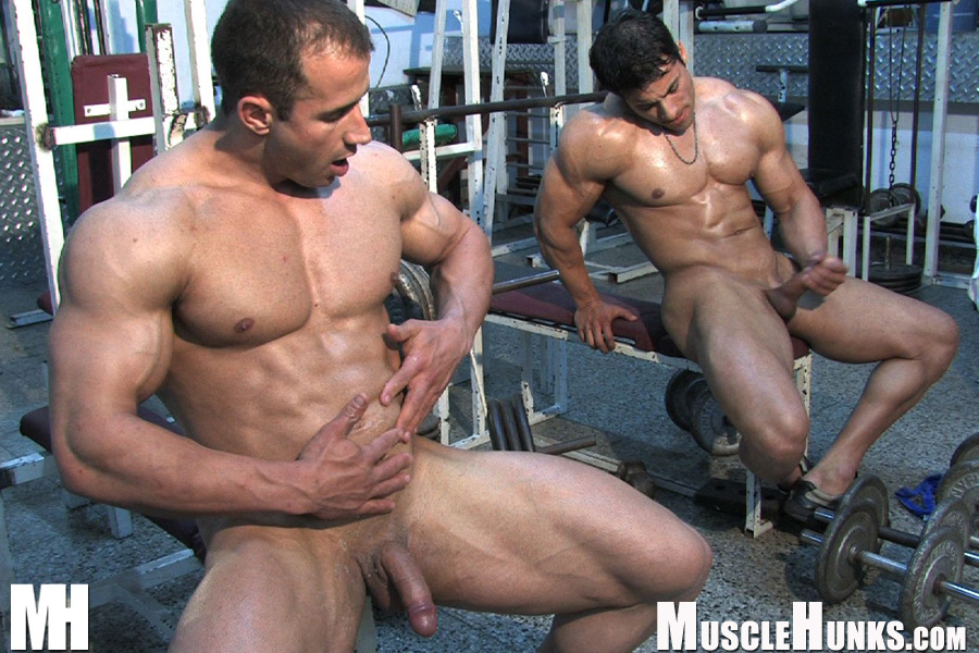 Two Twinks Jerk Off Together