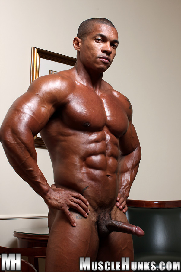 Share your Naked black bodybuilder fucked information