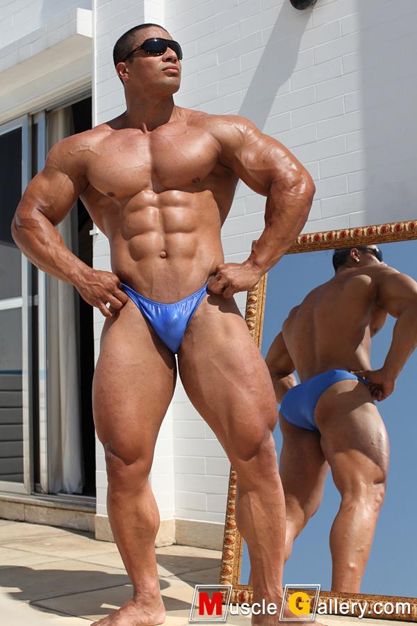 Black gay man nude stripper