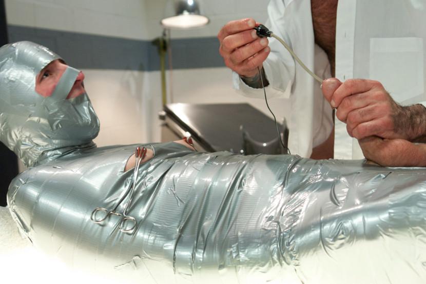 Mummification bondage tumblr