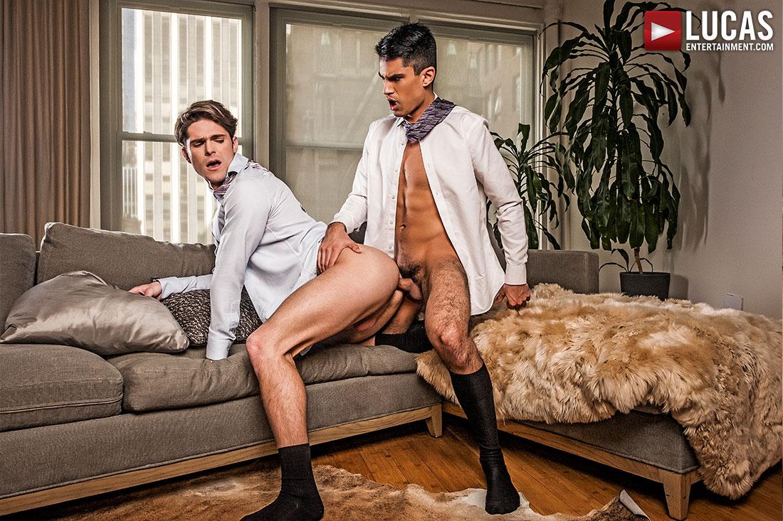 Porn Devin Franco devin franco and lee santino flip-fuck in suits