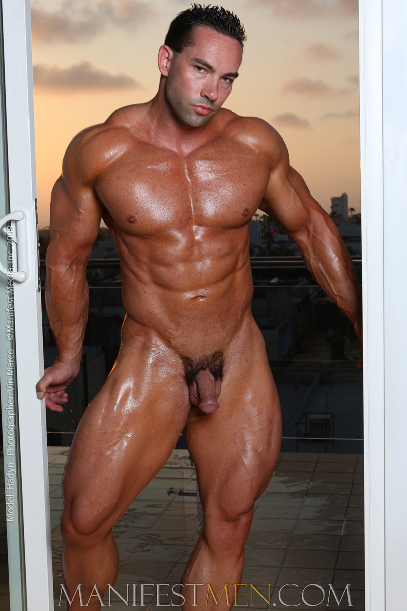 Muscle male escort