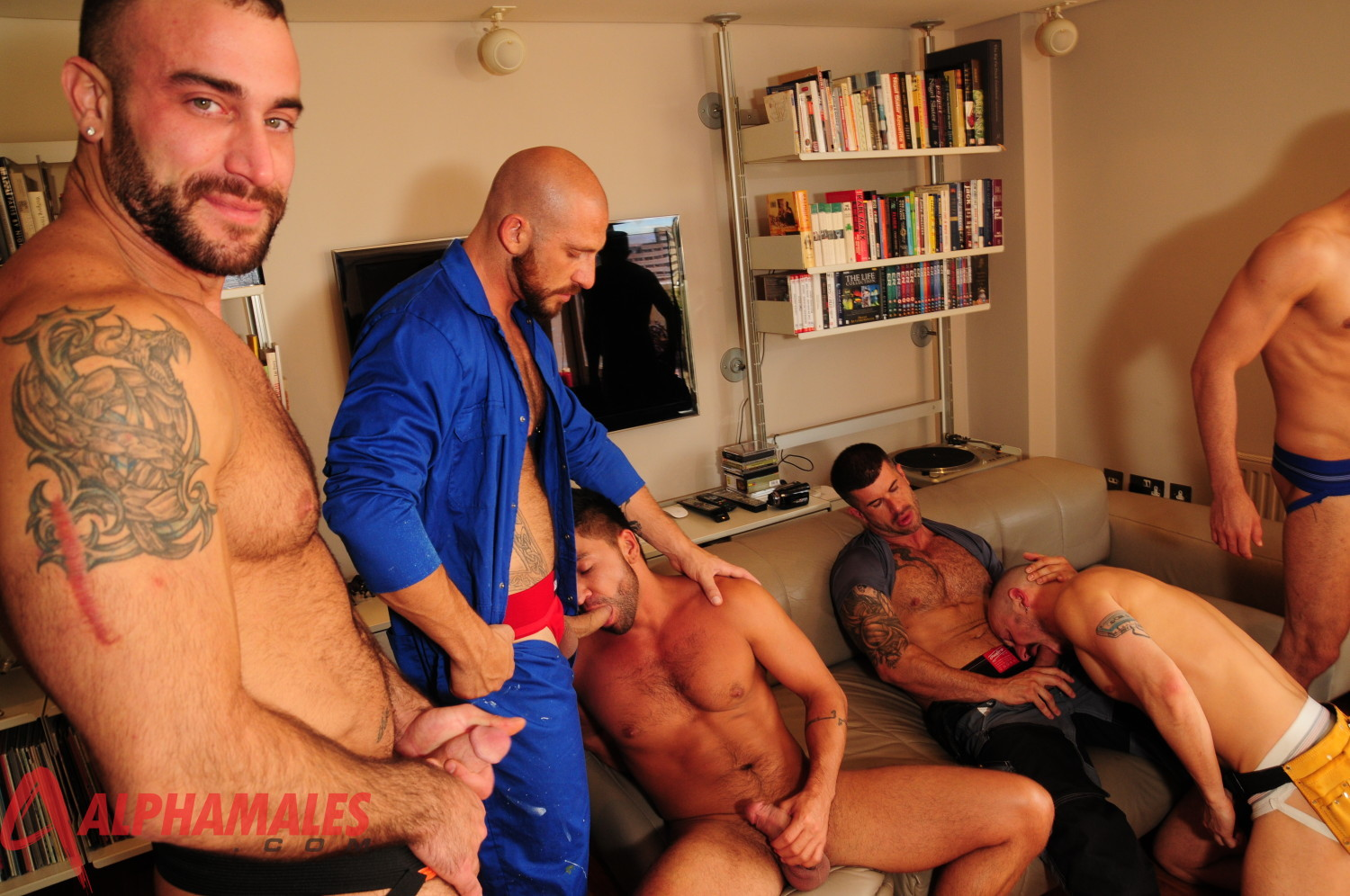 Aitor crash and damian boss fuck dominic pacifico