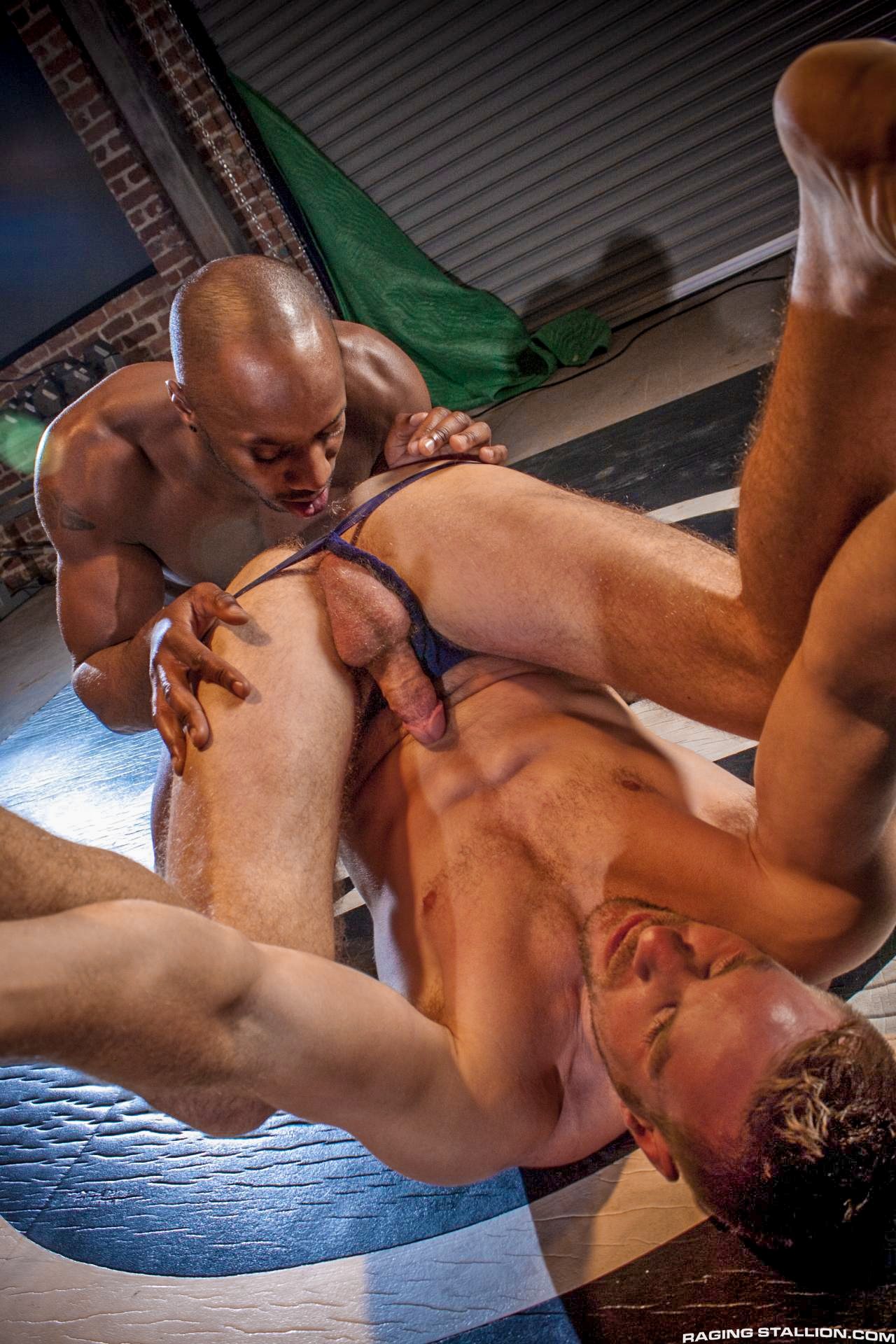 Gay Muscle Domination Wrestling