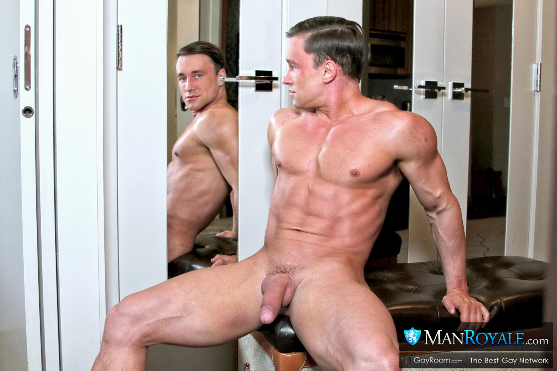 Large jock gay oral with facial