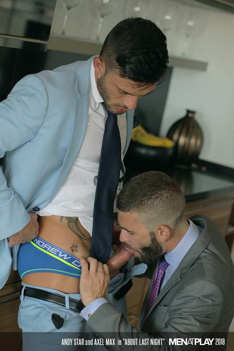 Axel Maax Porno Gay about last night. starring andy star & axel max