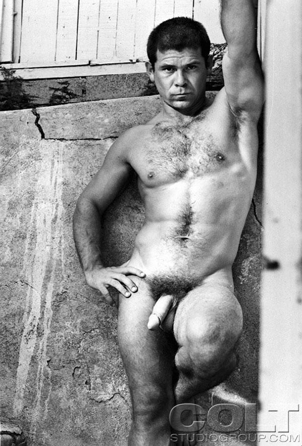 Vintage muscle gay porn